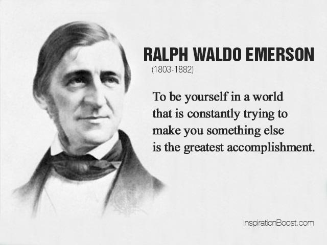 Emerson bądź sobą